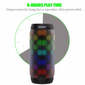 Image 3 - Хит продаж, цветной водонепроницаемый bluetooth динамик lewinner, беспроводной сабвуфер NFC с супербасами, звуковая коробка для занятий спортом на открытом воздухе, портативный динамик, fm динамик