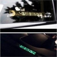 Табличка с номером в авто