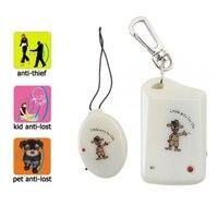 Alarma antirrobo de Antipérdida Conjunto de Seguridad un transmisor y un receptor (bolsos para mascotas para niños)