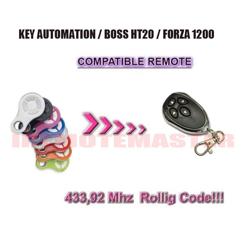 BOSS HT20 compatible garage door Rolling Code Remote Control key fob homtom защищенный смартфон homtom ht20 черный black