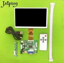 Jstping 7 дюймов 600*1024 HD FPC070 ЖК дисплей экран дисплея мониторы драйвер платы Raspberry банан pi HDMI VGA дистанционное управление клавиатура