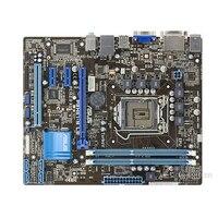 Asus P8H61-m le Desktop Scheda Madre H61 Socket LGA 1155 i3 i5 i7 DDR3 16G uATX UEFI BIOS Originale Usato Mainboard In Vendita