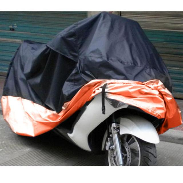 Motorcycle Bike Polyester Waterproof Snowproof Snow UV Protective Scooter Case Cover  XXXL XXXXL @31026