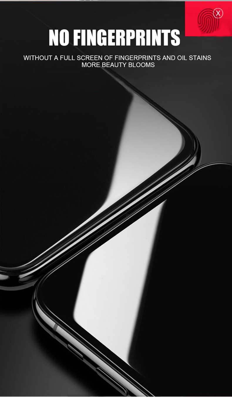 EQZ 9D زجاج واقي ل iphone 7 8 6s زائد واقي للشاشة iphone x xs xs زائد الزجاج المقسى على iphone x الزجاج حماية