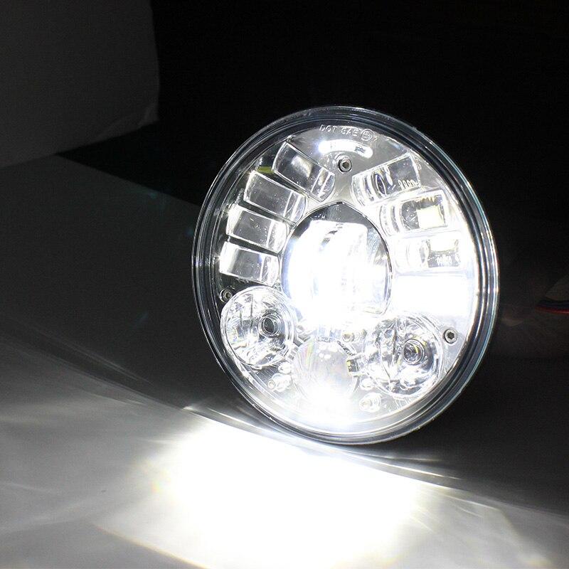 5 3/4 'LED phare de conduite pour Harley moto projecteur phares 5.75