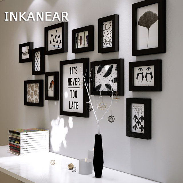 Online Shop Multiframe Picture Frames Home Decor Modern Living Room