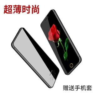 Image 3 - ULCOOL V66 + V66 artı Bluetooth çevirici 1.67 inç süper Mini Ultrathin kartlı telefon Metal gövde Mini cep telefonu