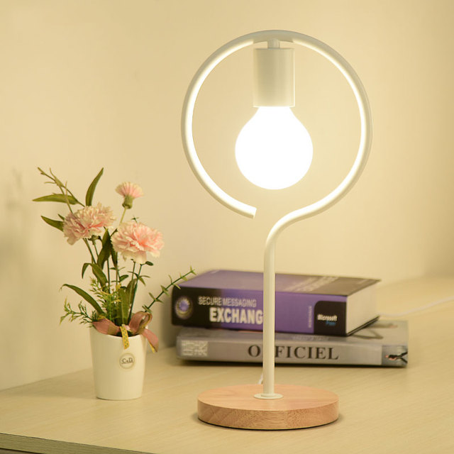 Table Lamp Bedside Reading Table Lamp Adjustable Light Children Learning  Lamp Nordic Modern Minimalist Style E27AC110