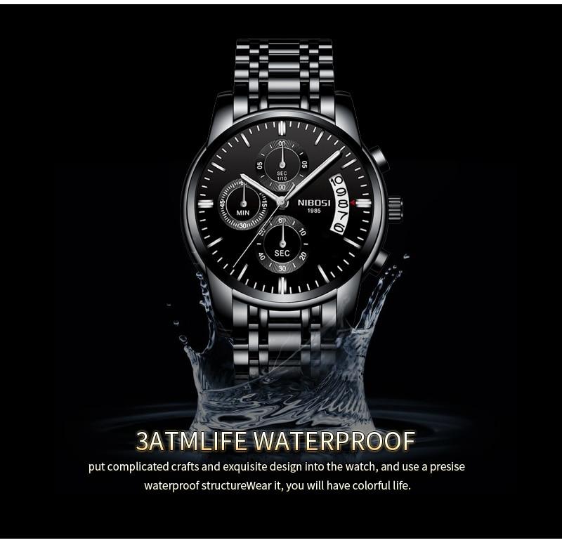 Relogio Masculino NIBOSI Mens Watches Top Brand Luxury Dress Famous Brand Watch Men Waterproof Calendar Luminous Erkek Kol Saati (11)