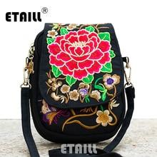 Hmong Ethnic Boho Hobo Embroidery Shoppers Bag Women's Shoulder Brand Messenger Bags Logo Indian Thailand Embroidered Handbag