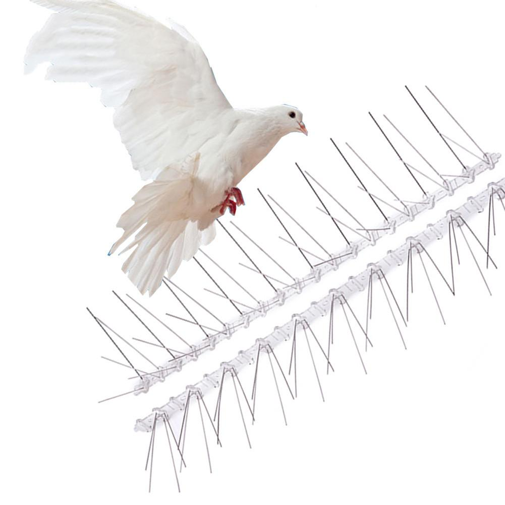 1/6pcs Bird Repeller 50cm Eco-Friendly Stainless Steel Pigeon Nails Anti-Bird Anti-Dove Spikes Pest Control Orchard Bird Catcher