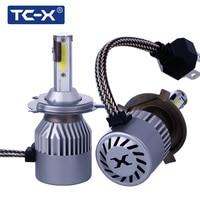 TC X 2PCS Lot COB Led Chips H4 H7 880 H1 H11 9005 9006 COB Car