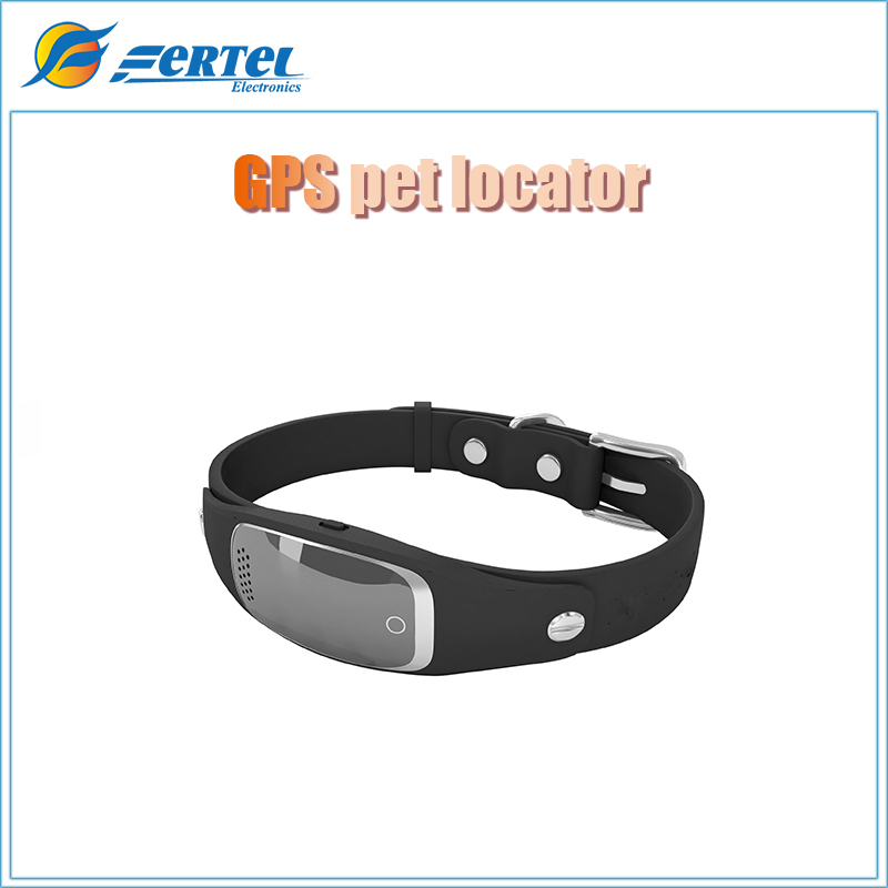 Waterproof Dog Cat Pets GPS Collar iOS Andriod APP Magnetic Charging Geofence GS