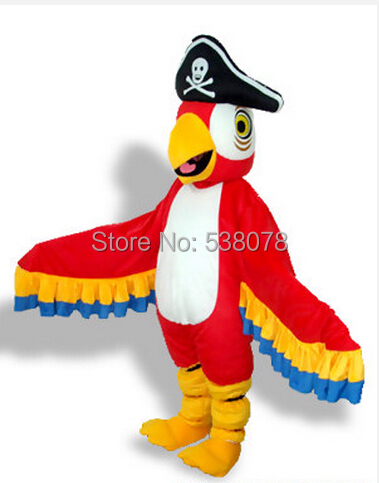 Facory Direct Custom Welcome Pirate Parrot Mascot Costume Adult Pirate Theme Carnival Fancy Dress (Custom  sc 1 st  AliExpress.com & Facory Direct Custom Welcome Pirate Parrot Mascot Costume Adult ...