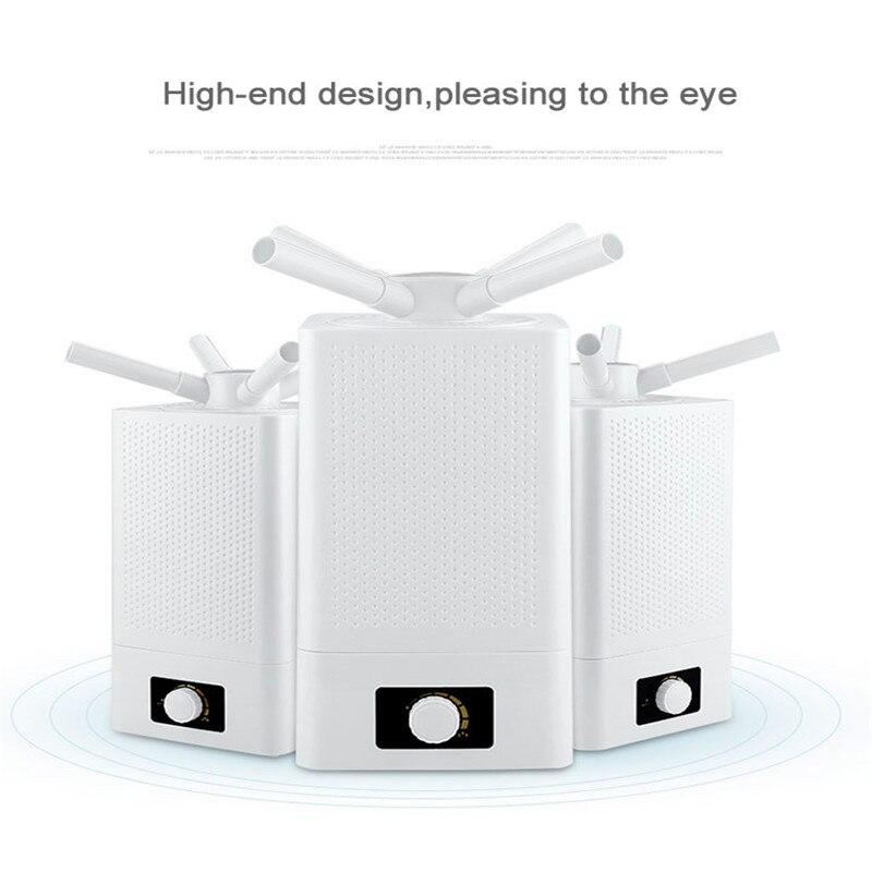 Многофункциональный Ультразвуковой увлажнитель воздуха для офиса дома и фабрики 11L большой емкости эфирный распылитель ароматических мас