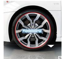 8 Meter Roll 3M Car Wheel Hub Tire Sticker Car Decorative Styling Strip Wheel Rim Tire