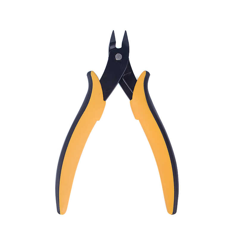 Mini Electrical Wire Cable Cutters Cutting Side Snips Flush Plier clipper Nipper Multi-Functiona Tool Pliers With Leather Bag