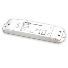 Драйвер с регулируемой яркостью DALI, новый драйвер с регулируемой яркостью для диммирования, постоянный ток 12 В, 3 А, мощность 36 Вт, кнопка включения DALI/диммер