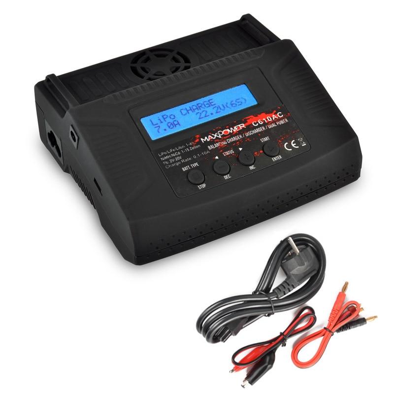 1 шт. Высокое качество 10-18 В C610AC профессиональный баланс Зарядное устройство для модели RC Nimh Батарея балансировки Зарядное устройство