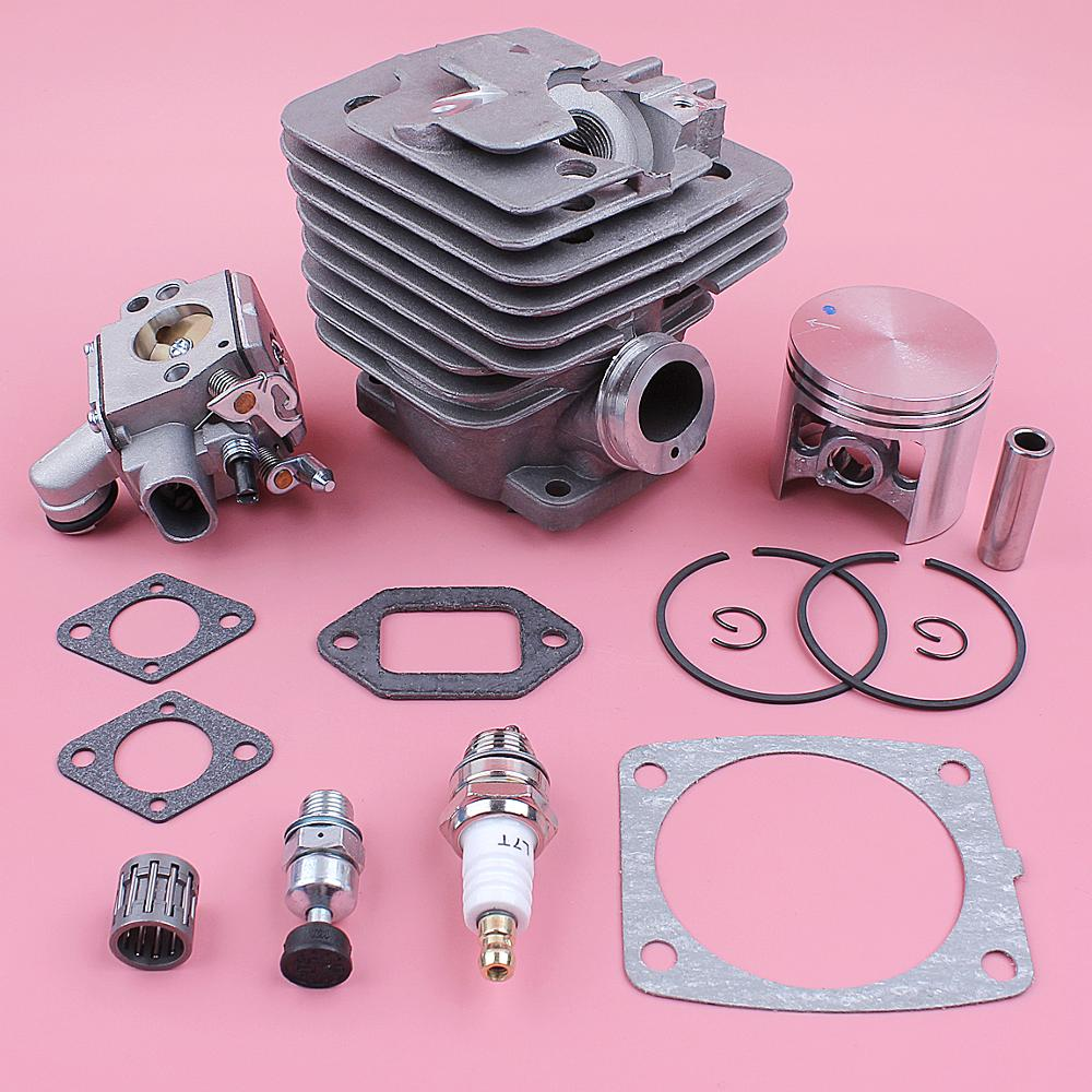 home improvement : 47mm Cylinder Piston Kit For Stihl MS361 MS 361 Carburetor Decompression Valve Bearing Gasket Chainsaw Replace Spare Tool Part