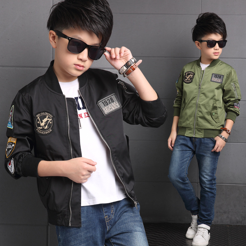 Children Jacket For Boys Coat Kids Clothes Spring Autumn 2021 Fashion Children's Winter Jackets Boy Clothing Casual Outerwear 1