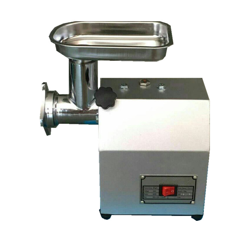 220kg/h Commercial Stainless Steel Electric Meat Grinder Multi Function Crusher Meat Machine Sausage Filling Enema Machine
