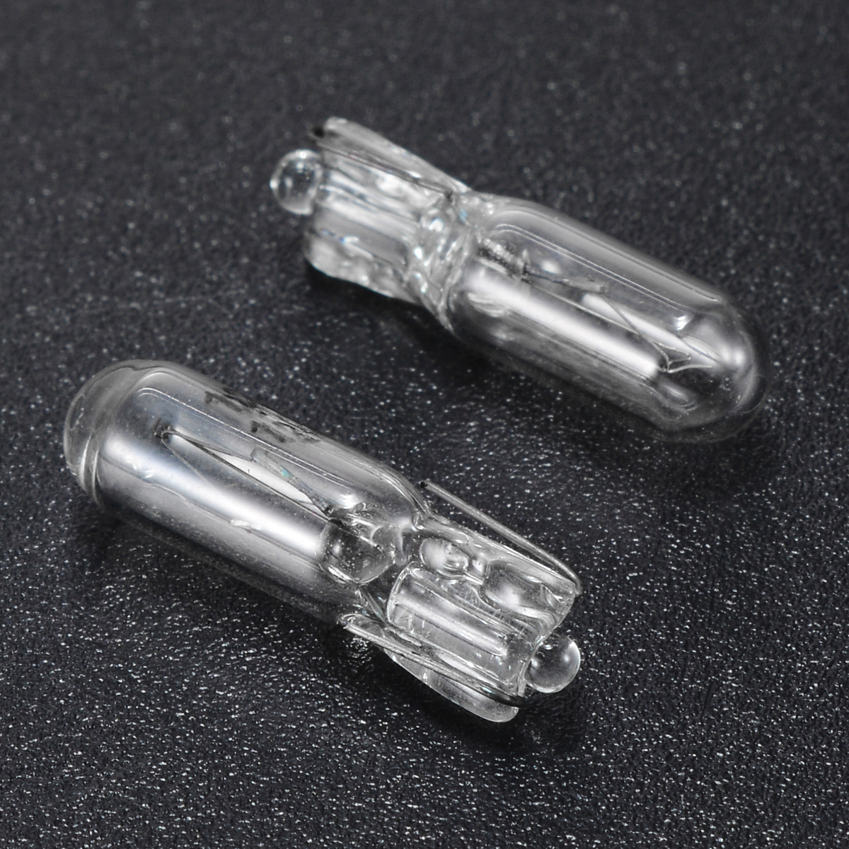 New Arrival 10pcs 12V 1.2W T5 286 Glass Amber Light Blub Car Wedge Dashboard Instrument Panel Brake Light Bulbs