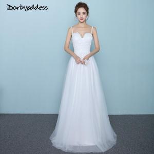 047b5f8552fe Darlingoddess 2018 Lace Bridal Plus Size Robe de mariee