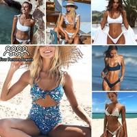 Bikini 2017 Swimwear Women Swimsuit Bathing Suit Sexy Bikinis Set Push Up Swim Wear Swim Suit