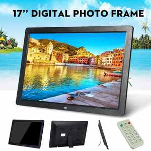 Advertising-Machine Digital-Photo-Frame Electronic-Picture-Album Led-Screen 17inch HD