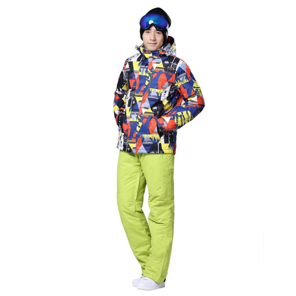 Vestes de Ski d'hiver hommes vestes de Snowboard imperméables thermiques en plein air vêtements de Ski de neige d'escalade - 3