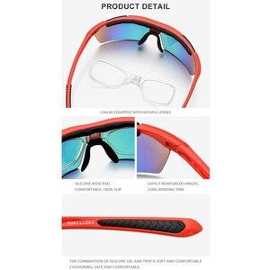 Image 4 - TR90 Gepolariseerde Zonnebril Mannen Hoge Kwaliteit Sport Zonnebril Vrouwen Outdoor Vissen Rijden Bescherming Goggles 5 Lens 8005