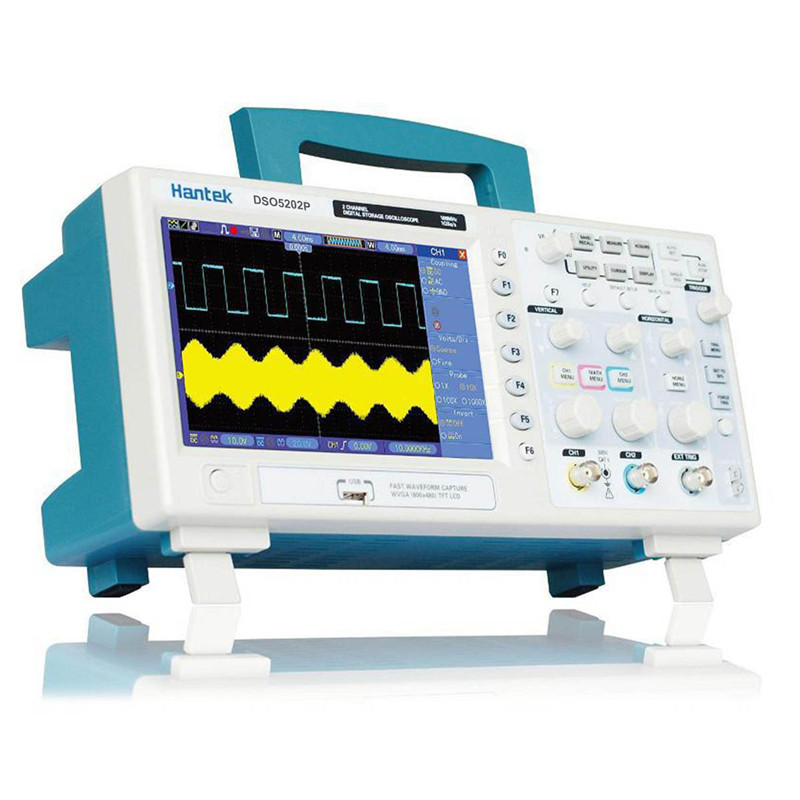 Original <font><b>oscilloscope</b></font> hantek dso5202p <font><b>oscilloscope</b></font> probe <font><b>200Mhz</b></font> 1GSa/s 2 Channel LCD <font><b>Digital</b></font> Storage <font><b>Oscilloscope</b></font> image