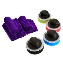 1Set Wax Handle+Sponge+Towel Polishing Buffing Pad Kit For Car Waxing Polisher Cars Washing Cleaning Detailing Care Car-Styling