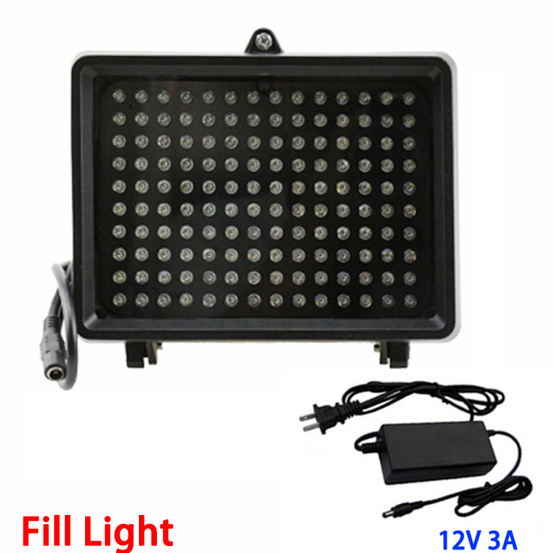 12V3A 50M IR 140Pcs Infrared IR Leds lamp 850nm illuminator Night vision Lighting for CCTV Camera Fill Light Free shipping