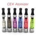 1 pc Elcetronic cigarro CE4 Clearomizer 1.6 ml CE4 clearomizer apto para eGo-K/T/W EVOD série Da Bateria 510 fios navio livre