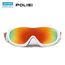 POLISI Professional Children Kids Snowboard Goggles Skiing Glasses Snow Gafas Motocross Off Road Glasses Winter Sports Eyewear