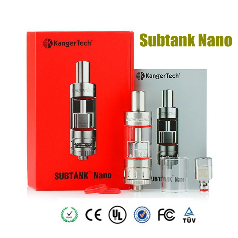 Original Kanger Subtank Nano tank 3 0ml OCC 1 2ohm Coil Vape Atomizer fit for subvod