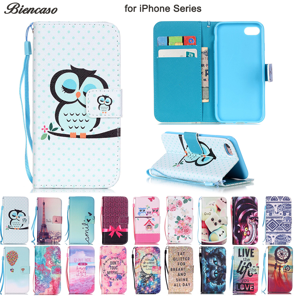 5g Se Responsible Rich Leather Wallet Magnetic Flip Phone Case Cover For Apple Iphone 5s