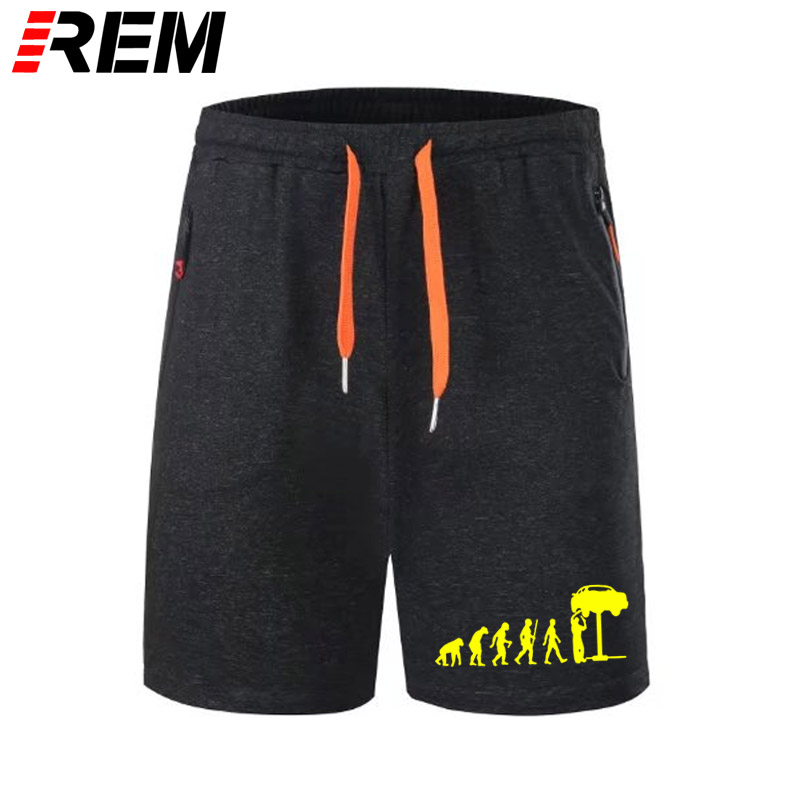 REM Summer Style Evolution Auto Mechaniker Mechanic Car Short Pants Funny Gift  Knickers For Men Panties Short