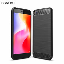 For Xiaomi Redmi Go Case Soft TPU Silicone Anti-knock Phone Cover Funda 5.0 BSNOVT