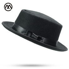2018 New Products Fedoras Unisex Structured Wool Fedora Hat