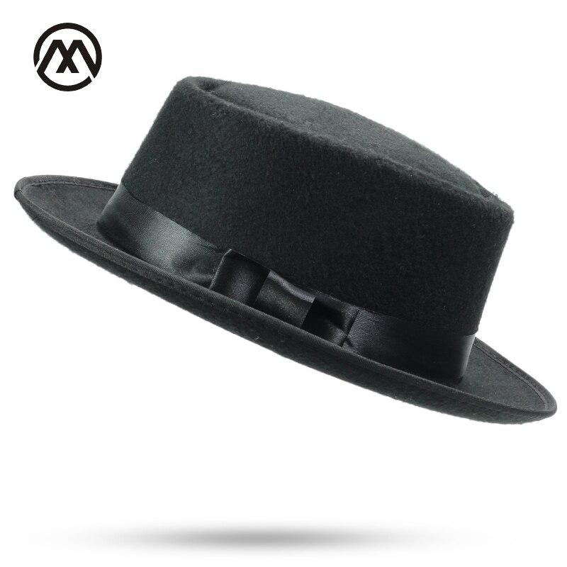 2018 nuevos productos sombreros Unisex estructurado sombrero Fedora de lana  sombrero hombre Fedora ... 71b368ee367e