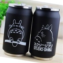 crtani vakuum termos mug moj susjed totoro može od cola inox anime likova cup s japanskim hayao miyazaki dizajn