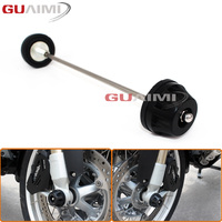 For BMW R1200GS LC 13-17/ R1200GS LC Adventure 14-17 Motorcycle Front Axle Fork Wheel Protector Crash Sliders Cap Pad