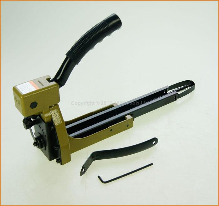 Manual Carton Box Stapler Nailer 1-3/8 Sealer Closer For 16-18mm Staples