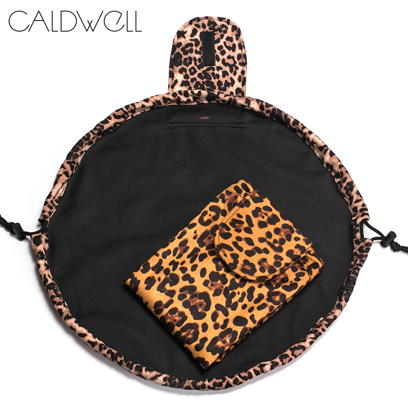 New Arrival Leopard Cosmetic Bag Travel Portable Makeup Pouch Storage Toiletry Bag