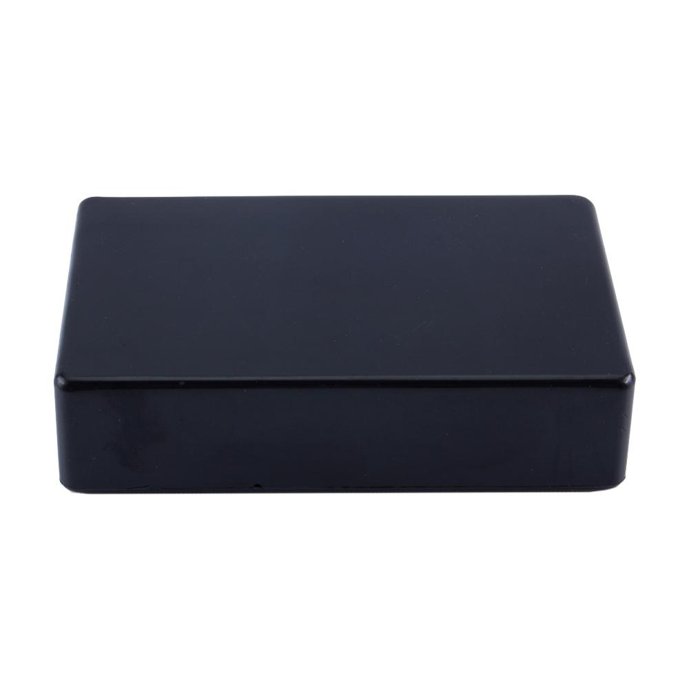 100x60x25mm Black Plastic Waterproof Cover Project Electronic Instrument Case Enclosure Box