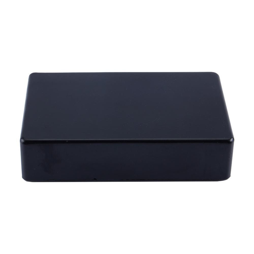 100x60x25mm Black Plastic Waterproof Cover Project font b Electronic b font Instrument Case Enclosure Box