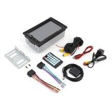 LESHP 7 zoll Touchscreen 7020G Auto Bluetooth Audio Stereo Mp5 mit Rückfahrkamera GPS Navigation FM Funktion